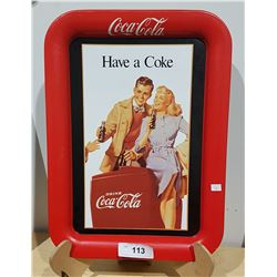"""HAVE A COKE"" TIN TRAY"