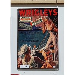 WRIGLEYS GUM SST SIGN