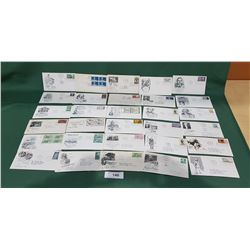 28 1950'S/60'S FIRST DAY OF ISSUE STAMPS/ENVELOPES