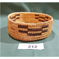 CALIFORNIA NATIVE WEAVED BASKET