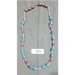 BEAUTIFUL TURQUOISE STONE NECKLACE