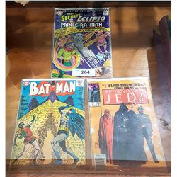 12CENT BATMAN & HOUSE OF SECRETS COMICS