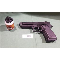 DAISY .177 CALIBER BB GUN W/UNOPENED BOTTLE OF 1500 BB'S