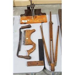 5 ANTIQUE WOODWORKINGTOOLS