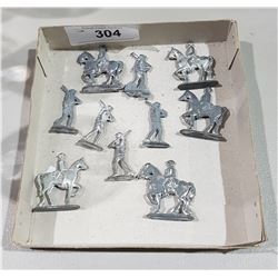 LOT OF 10 LEAD SOLDIERS
