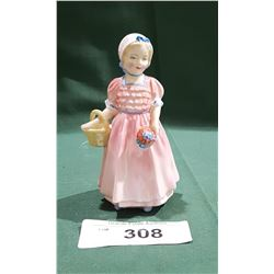 SMALL ROYAL DOULTON TINKLE BELL FIGURINE