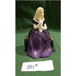 SMALL ROYAL DOULTON AFFECTION FIGURINE