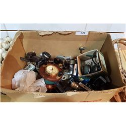 BOX OF 20+ FISHING REELS