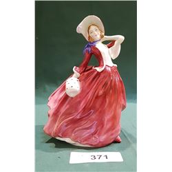 EARLY ROYAL DOULTON AUTUMN BREEZES FIGURINE