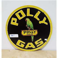 POLY GAS TIN SIGN