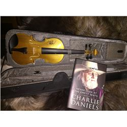 Charlie Daniels Fiddle and Book