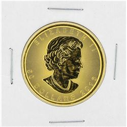 2016 Canadian $50 Gold Maple Leaf