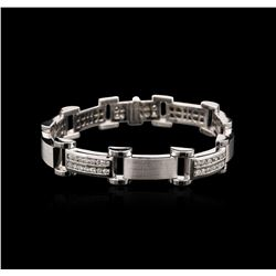 14KT White Gold 2.37 ctw Diamond Bracelet