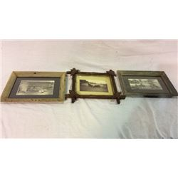 3 Early Native American and Ranch Prints
