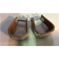 Wood Metal Wrapped Stirrups New