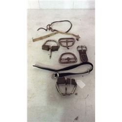 Lot of Used Hardware and Buckles