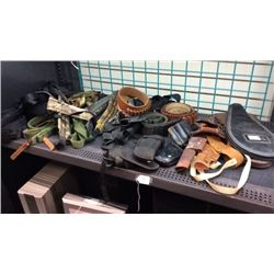 Holsters and Belts