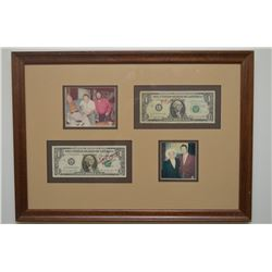 AUTOGRAPHED MONEY BY ROY ROGERS T CHILLIS