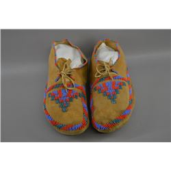 Plains beaded moccasins