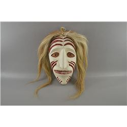 Irouiqes Ghost dance carved mask by Hiada Jegrenta