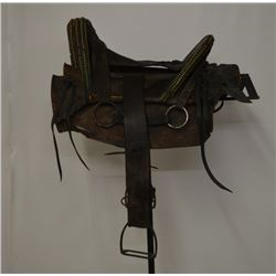 Navajo tacked saddle