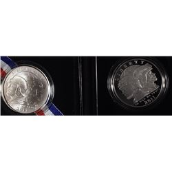 (2) 2011 U.S. Army Commemoratives