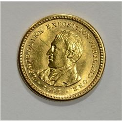 1905 LEWIS AND CLARK $1 GOLD CH BU