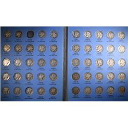 MERCURY DIME SET MISSING ONLY THE 16-D