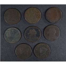 LARGE CENT LOT: