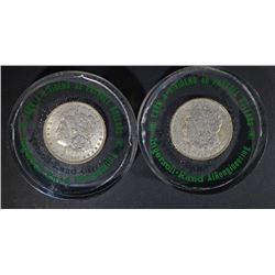 2-INGERSALL RAND PAPER WEIGHTS: