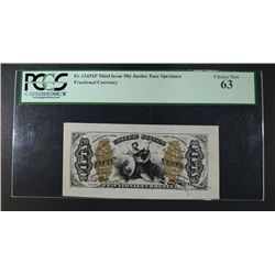 1863 FIFTY CENTS FRACTIONAL CURRENCY THIRD ISSUE