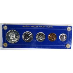 1955 PROOF SET IN CAPITAL HOLDER GEM PROOF