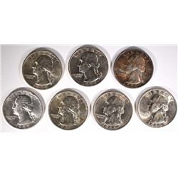 7-CH BU 1944-S WASHINGTON QUARTERS
