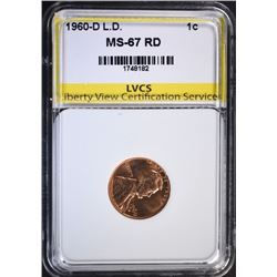 1960-D Lg Dt LINCOLN CENT LVCS SUPERB