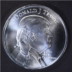 DONALD TRUMP/WHITEHOUSE .999 SILVER ROUND