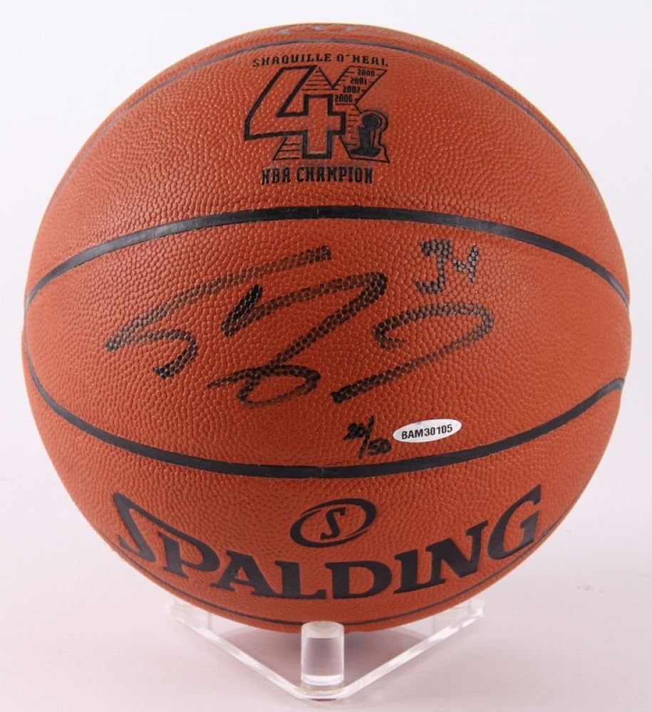 Image 1   Shaquille O Neal Signed LE