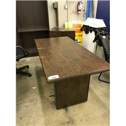 DARK WOOD 5' CONFERENCE TABLE