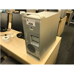 APPLE MAC PRO, MODEL A1289, SERIAL NUMBER YM0420R2EUF, WITH APPLE KEYBOARD,