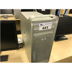 APPLE MAC PRO, MODEL A1289, SERIAL NUMBER H00050MN20H, WITH APPLE KEYBOARD,