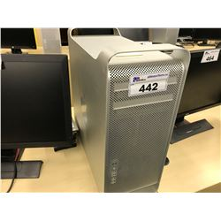 APPLE MAC PRO, MODEL A1289, SERIAL NUMBER H000923N20H, WITH APPLE KEYBOARD,