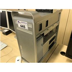 APPLE MAC PRO, MODEL A1186, SERIAL NUMBER G8834373XYK, WITH APPLE KEYBOARD,