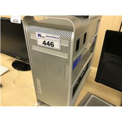 APPLE MAC PRO, MODEL A1189, SERIAL NUMBER G89113TV8MC, WITH APPLE KEYBOARD,