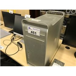 APPLE MAC PRO, MODEL A1289, SERIAL NUMBER H09235ND20G, WITH APPLE KEYBOARD,