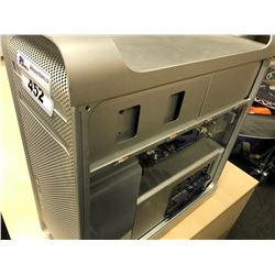 APPLE MAC PRO, MODEL A1186, SERIAL NUMBER G87461970GN, WITH APPLE KEYBOARD,