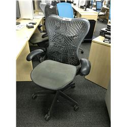 HERMAN MILLER MIRRA ERGONOMIC VENTED BACK ADJUSTABLE TASK CHAIR