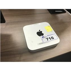 APPLE MAC MINI, MODEL A1347, 12 GB RAM, SERIAL NUMBER C07M3BSNDWYL