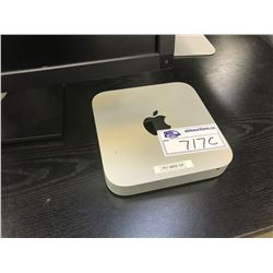 APPLE MAC MINI, MODEL A1347, 8 GB RAM, SERIAL NUMBER C07N6143DY3H, WITH APPLE WIRELESS KEYBOARD