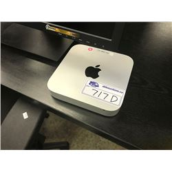 APPLE MAC MINI, MODEL A1347, 8 GB RAM, SERIAL NUMBER C07KX126DY3H, WITH APPLE WIRELESS KEYBOARD