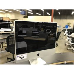 APPLE IMAC 20'' COMPUTER, MODEL A1224, SERIAL NUMBER 73810251X85,