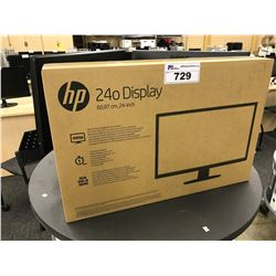 HP 24'' FLAT SCREEN MONITOR